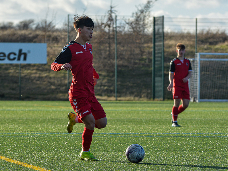 Croatian clubs watch FCV Academy player