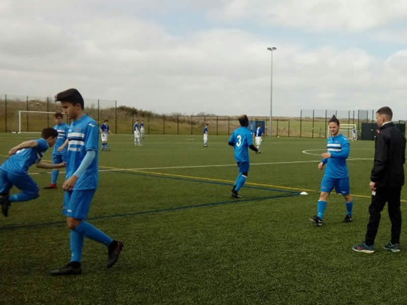 FCV Academy win 10-goal semi-final thriller
