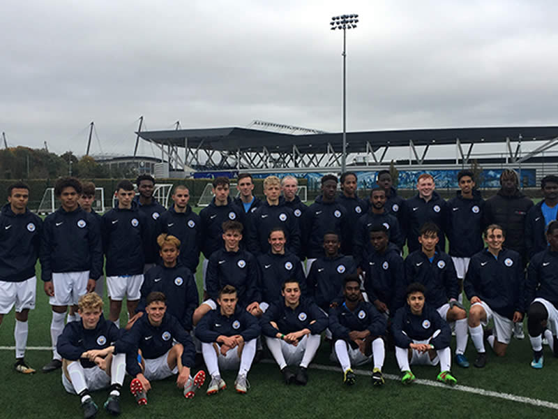 Players benefit from experience of training at Etihad Campus
