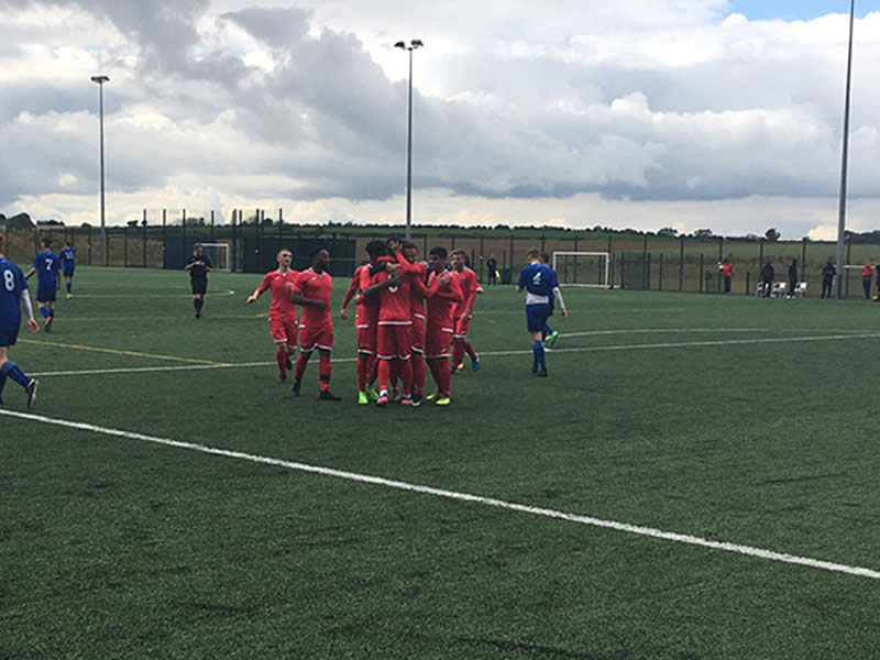 FCV Reds comfortably see off AFC Rushden & Diamonds