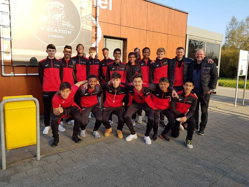 FCV Academy players benefit from European trip